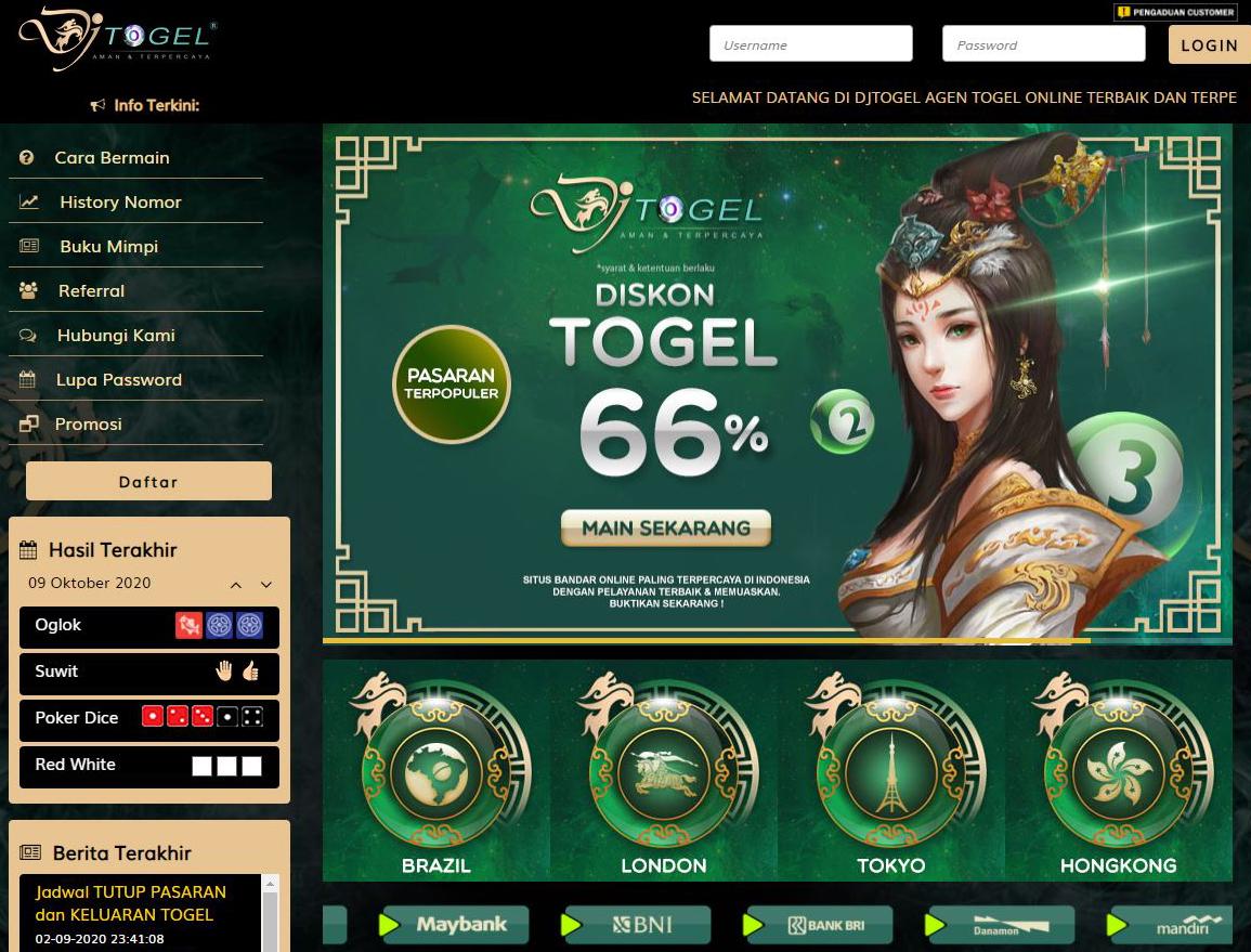 Togel Online Terbaik Dan Terpercaya Di Indonesia
